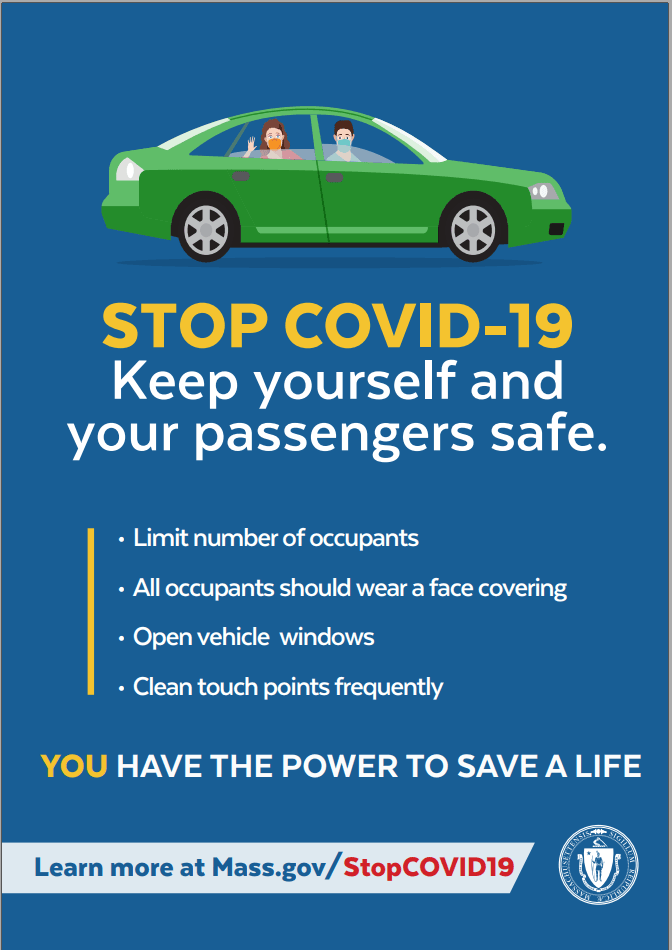 Keep yourself and your passengers safe